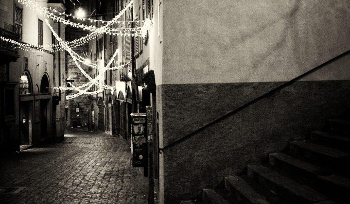 Lunedì notte a Piazza Vecchia