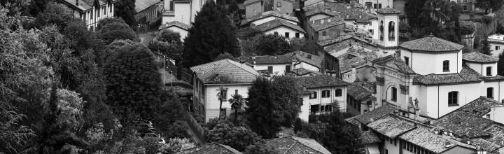 Black and white Città Alta