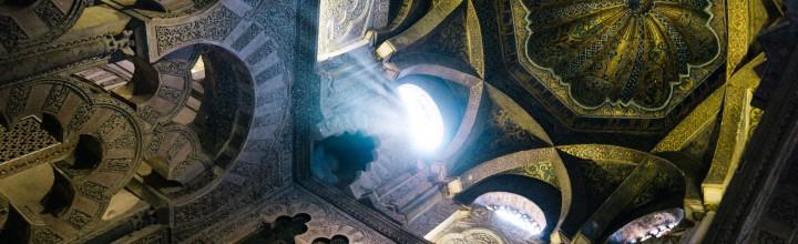 White and gold Mezquita