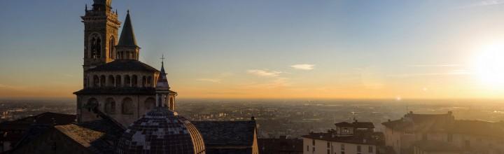 Sunset – stitched panorama #1