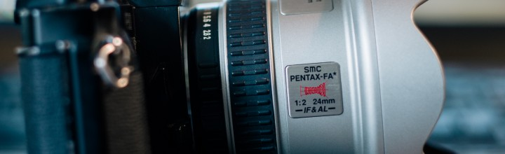 Pentax P30 with FA*24/2