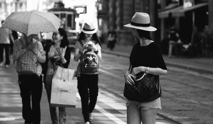 Milano in black&white