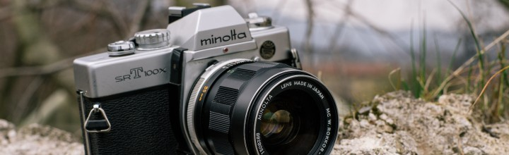 Minolta srT 100x – MC W. ROKKOR-HH 35/1.8