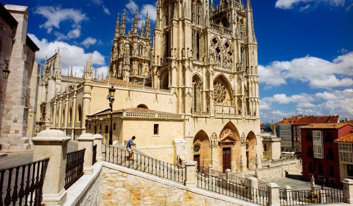 Burgos blue sky