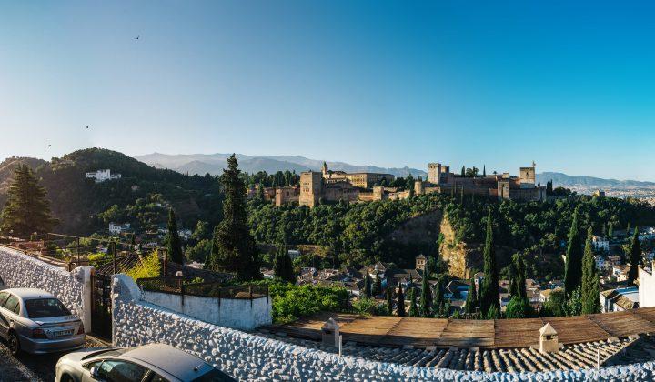 Madrugando en la Alhambra