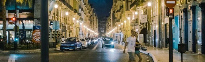 De Noche por Valencia