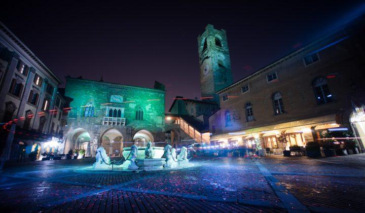 Halloween in Piazza Vecchia