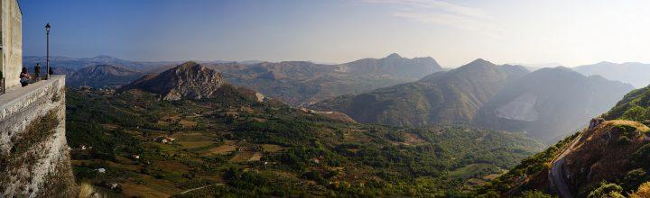 Panorama dalla Locanda Severino di Vitantonio Lombardo