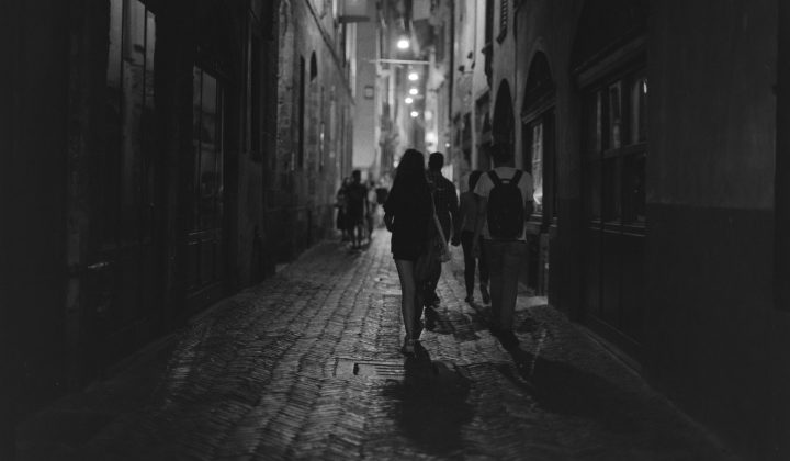 Bergamo in 645 – HP5 Plus @1600