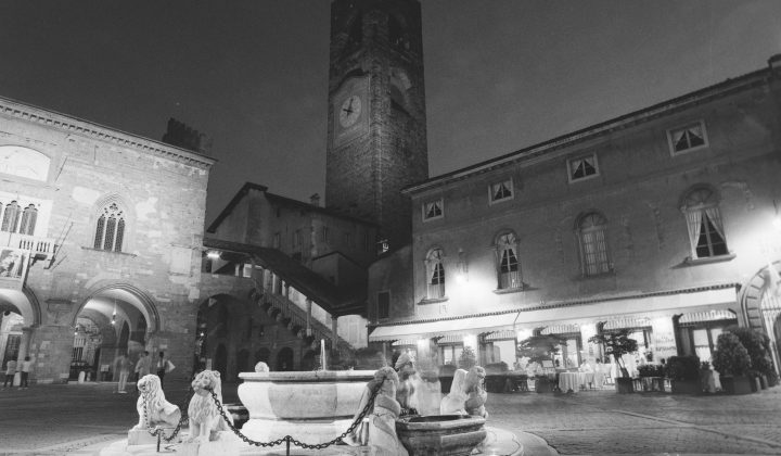 Bergamo in 645 wide – HP5 Plus @1600